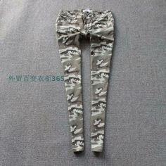 2014 Новая весна хлопок торговли оригинальный сингл камуфляжные штаны карандаш брюки ноги брюки большого размера женщин жира мм брюки - Taob ...