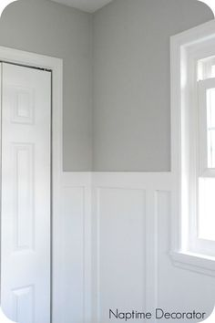 light gray paint colorsWall paint color is Light French Gray from Sherwin Williams