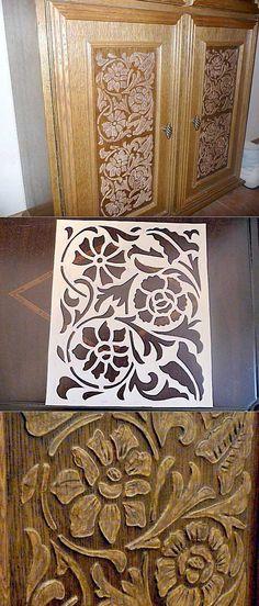 La Clase maestra: la Imitación del tallado en madera en 1 hora »Jenshina.net - el sitio para las mujeres presentes.