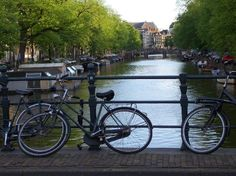Canal view Amsterdam Netherland