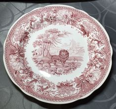 Spode Archive Collection Tradition Series Aesops Fables Dinner Plate  | eBay