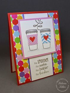 Mel's Card Corner | Coffee Love