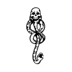 death eater   Tumblr ❤ liked on Polyvore featuring harry potter, hogwarts, drawings and slytherin