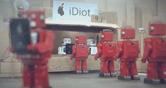 iDiots, el cortometraje que satiriza la obsolescencia programada