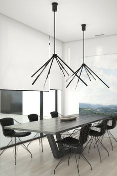 Aeon Grande Chandelier by Tech Lighting Family Room Lighting, Home Office Lighting, Dining Room Lighting, Luxury Chandelier, Contemporary Chandelier, Chandeliers, Dining Room Images, Dining Room Walls, Battery Operated Chandelier