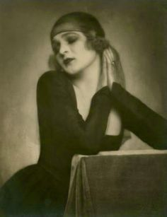 Anita Berber, 1922: Madame D'Ora - Germany. Weimar cabaret goddess Anita Berber led a life that would be considered shocking even today. Berber embodied decadence: she was an unapologetic spendthrift drug addict and alcoholic sometime prostitute whose many high-profile bisexual and S&M affairs remain the stuff of legend. An electrifying avant-garde dancer, she often performed nude or wearing androgynous costumes.This human volcano of scandal and creativity expired in 1928 at the age of 29.