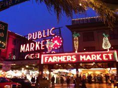 Pike Public Market, Seattle