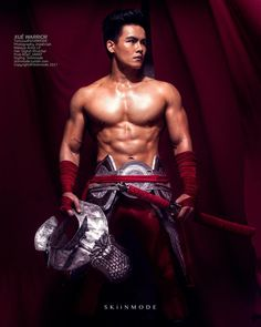The Xuè warrior // #warriors #chinese #red #blood #blade #weapon #fight #army #commander #royal #masculine #asian #tight #fighter #seduce #6pack #movie #character