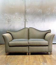 Andree Putman High Back Sofa
