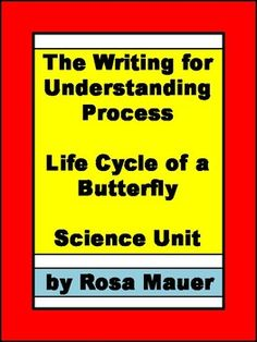 In this unit, the writing for understanding process is used to help students learn about the life cycle of the butterfly. A suggested lesson plan is provided. You will receive:* Lesson Suggestions* Vocabulary matching game* Basic Vocabulary and facts for students or teachers* Optional notetaking guide for students* Optional writing chart for studentsBook comprehension questions with answers using these choices:* Butterfly Butterfly by Cammie Ho* The Little Butterfly by Sherry Shahan…