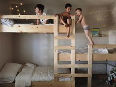 laie baby laie el_mueble pinja colada richellexo ideales zuhause my paradissi modern ja … – kids' bedroom – – Best Ideas Bunk Beds With Stairs, Kids Bunk Beds, Cool Bunk Beds, Bunk Bed Decor, Bunk Beds Small Room, Bunk Bed Ladder, Small Rooms, Triple Bunk Beds, Modern Bunk Beds