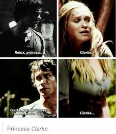 The respect grows. Bellarke. The 100.