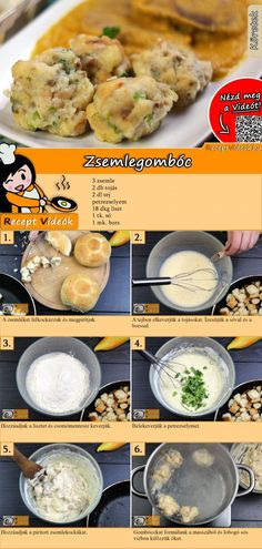 Easy Cooking, Cooking Recipes, Healthy Recipes, Good Food, Yummy Food, Tasty, Hungarian Recipes, Recipe For Mom, Breakfast Time