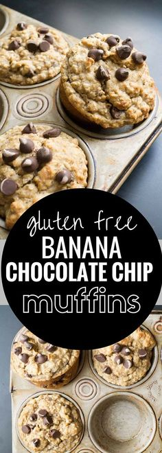 A gluten free recipe for Banana Chocolate Chips Muffins that doesn't taste gluten free!