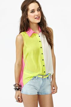 Bright Side Blouse $26.60