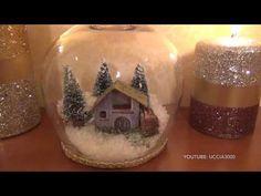 Chissà quante di voi hanno in casa una cifra sconsiderata di barattoli di vetro, che sono li conservati in attesa di essere riutilizzati in qualcosa di Christmas Angels, Christmas Crafts, Xmas, Christmas Ornaments, Advent, Paper Crafts, Diy Crafts, Picture Cards, Creative Cakes