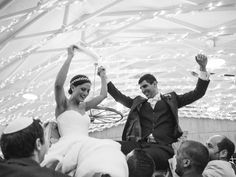 Jewish Wedding Reception Rituals | Photo by: Delbarr Moradi Photography | TheKnot.com