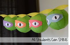 Ninja Turtle decorations!