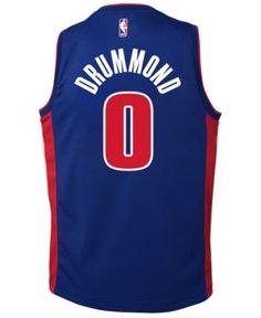 Nike Andre Drummond Detroit Pistons Icon Swingman Jersey 0fd0d1b7d
