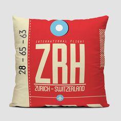 ZRH - Throw Pillow
