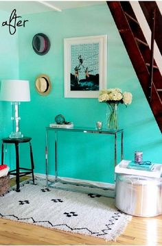 Cómo pintar una pared estilo ombré | Ideas para Decoracion
