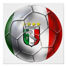 Shop Italy Forza Azzurri Calcio Soccer Ball flag Postcard created by SoccerJersey. Messi Y Ronaldinho, International Teams, Best Football Team, Football Gear, Online Gratis, Fifa World Cup, Soccer Ball, Poster Prints, Flag