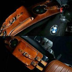 Bildergebnis für leather tank bag motorcycle