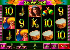 Avez-vous toujours rêvé de visiter le carnaval brésilien? La machine à sous Samba Brazil de la Playtech a realisé votre rêve! Une musique entraînante, joyeuse ambiance, une belle danseuse qui est le symbole Wild - c'est pas seulement pour vous amuser, c'est aussi pour vous aider à obtenir votre gain! C'est le temps de Carnaval!