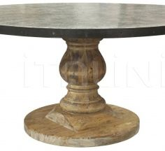 QS Zinc Top Table, Old Wood GTAB445 Old Wood, Dining Table, Top, Furniture, Home Decor, Decoration Home, Room Decor, Dinner Table, Home Furnishings
