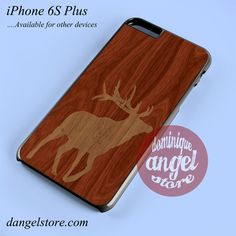 Wood Deer 1 Phone case for iPhone 6S Plus and another iPhone devices – dangelstore