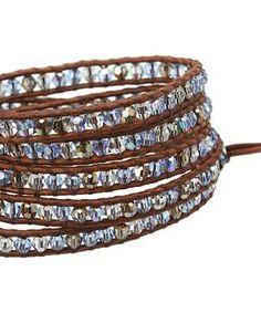 "Chan Luu 32"" Light Sapphire Mix Bracelet  #accessories  #jewelry  #bracelets  https://www.heeyy.com/suggests/chan-luu-32-light-sapphire-mix-bracelet-light-sapphire-mix/"