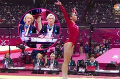 She sure shocked the judges with this vault!