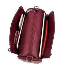 Genuine Leather Women Shoulder Bag  Price: 55.11 & FREE Shipping   #cute #beauty #fashionable #design #shirt #health Luggage Bags, Sling Backpack, Backpacks, Shoulder Bag, Free Shipping, Chain, Lady, Health, Shirt
