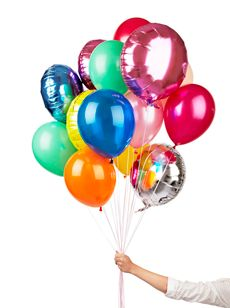 Latex Balloons 11th Birthday, It's Your Birthday, Girl Birthday, Foil Balloons, Latex Balloons, Poppies For Grace, Colourful Balloons, Tropical Party, Party Time