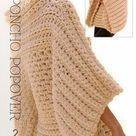 free crochet pattern poncho pop over