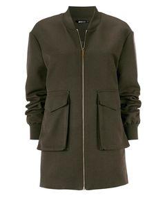 Gina Tricot - Amber jacka Gina Tricot, Military Jacket, Amber, Nice, Clothing, Fashion, Jackets, Kleding, Outfits