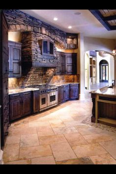 Beautiful kitchen space!