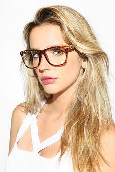 'Fleur De Lis' Unisex Clear Wayfarer Glasses - Black/Gold - 5541-2