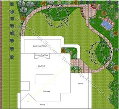 images about Landscaping Plans on Pinterest Yard