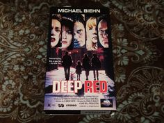 Deep Red (VHS, 1994) OOP 1st MCA Michael Biehn/John de Lancie SciFi *NOT ON DVD*