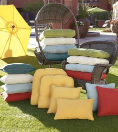 Our pillows and cushions come in tons of colors and sizes for the perfect fit