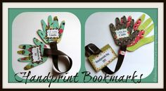 Grandparents Day Hands Bookmark
