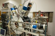 The electron-positron spectrometer at the Institute for Nuclear Research in Debrecen, Hungary, which has supposedly found evidence for a new particle. MTA-Atomki