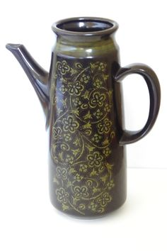 Vintage Dinnerware Franciscan Madeira Coffee Pot by EdibleComplex, $11.00