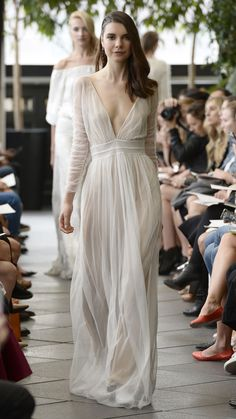 Delphine Manivet Bridal Fall 2015 via @stylelist | http://aol.it/1vB7XNV