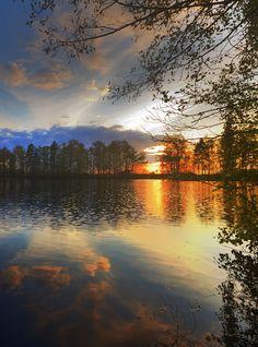 Colorful sunset by Jan Arnds Schüttorf, Germany