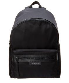LONGCHAMP . #longchamp #bags #leather #lining #nylon #backpacks #