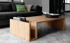 Holz-Couchtisch Naomi mit Zeitschrifthalter-spaßige Wohnzimmer Möbel