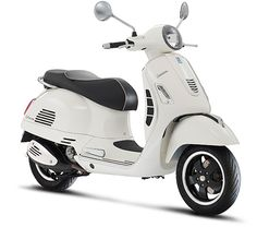 "Vespa GTS Super 125 ie ""Montebianco."""