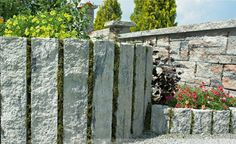 Hochwertig Granit Palisaden U2013 20 Ideen Für Schöne Gartengestaltung #gartengestaltung  #granit #ideen #palisaden